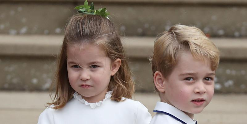 George and Charlotte to have roles in another wedding
