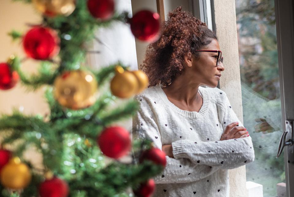 Christmas could look very different this year. (posed by model, Getty Images)