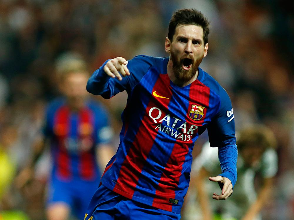Lionel Messi proved why he is considered the best player in the world: Getty