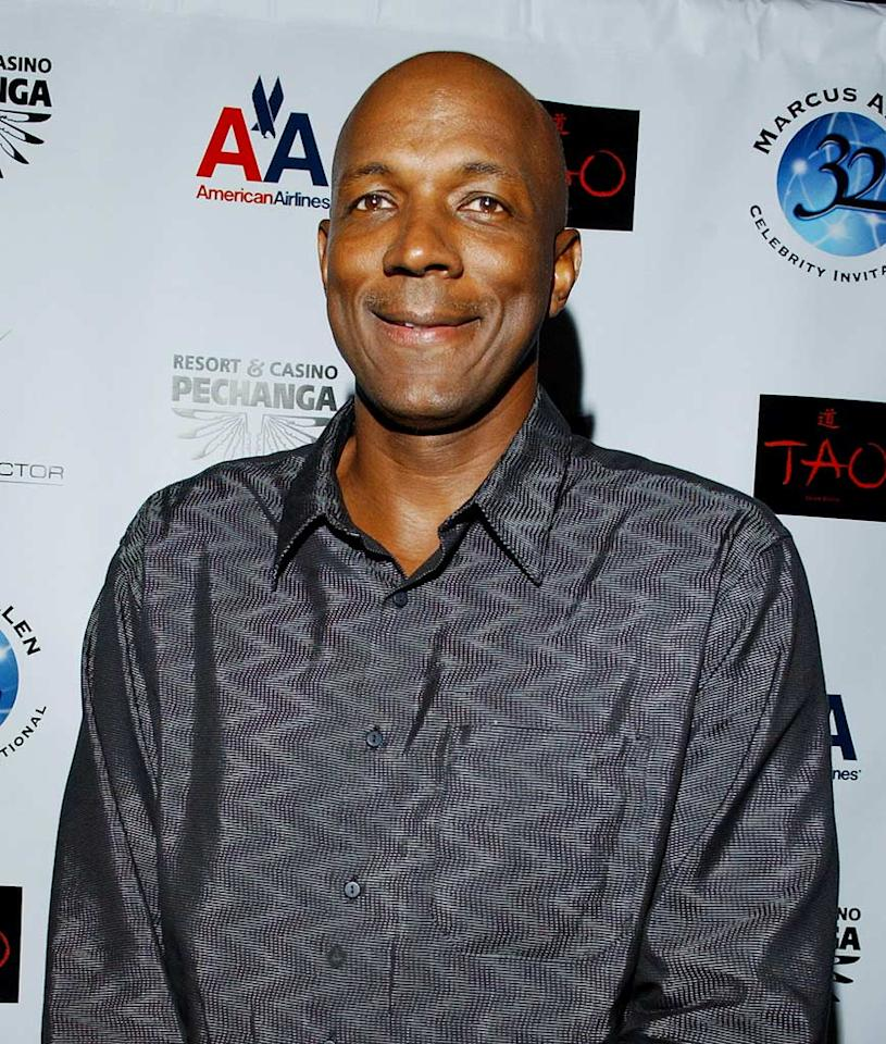 """Clyde Drexler - Named One of the 50 Greatest Players in NBA History, """"Clyde the Glide"""" was a member of the 1992 U.S. Olympic Dream Team. He began his career in  1983 with the Portland Trailblazers and retired in 1998 with the Houston Rockets, a team he led to the 1995 NBA Championship. Elena Grinenko, who returns for her second season, will be his partner."""