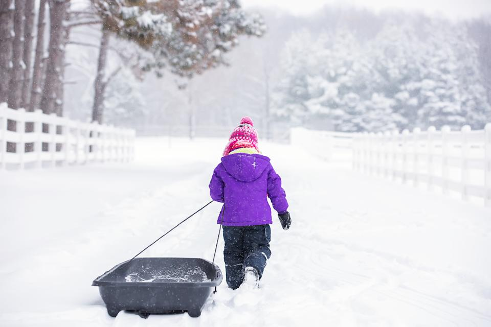 "A New Jersey school district is keeping designated ""snow days"" to give children routine as the coronavirus pandemic continues. (Getty Images)"