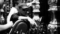 """Director Kar Wai Wong on the set of The Weinstein Company's """"The Grandmaster"""" - 2013"""