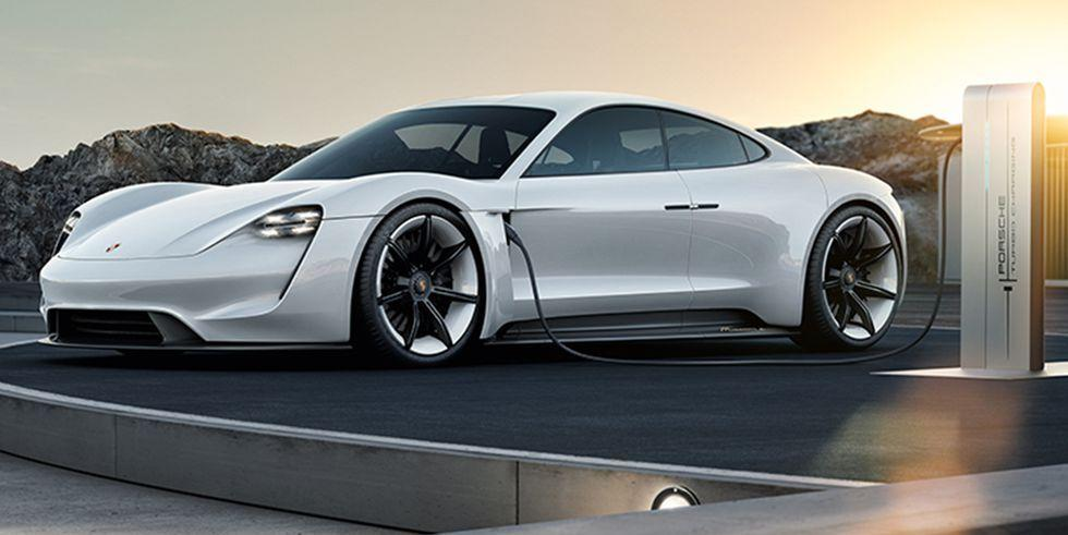 Porsche's First Electric Car: What to Know About the 2020 Taycan