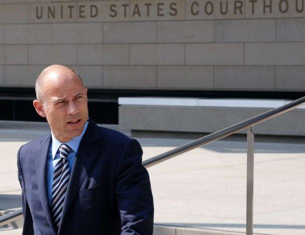 PHOTO: Michael Avenatti, the attorney for porn actress Stormy Daniels walks out of the U.S. Federal Courthouse prior to a news conference in Los Angeles, July 27, 2018. (Richard Vogel/AP, FILE)