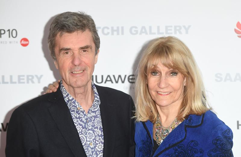 LONDON, ENGLAND - MARCH 30: John Stapleton and Lynne Faulds Wood arrive at the Saatchi Gallery for its new exhibition 'From Selfie to Self-Expression' on March 30, 2017 in London, United Kingdom. (Photo by Stuart C. Wilson/Getty Images)