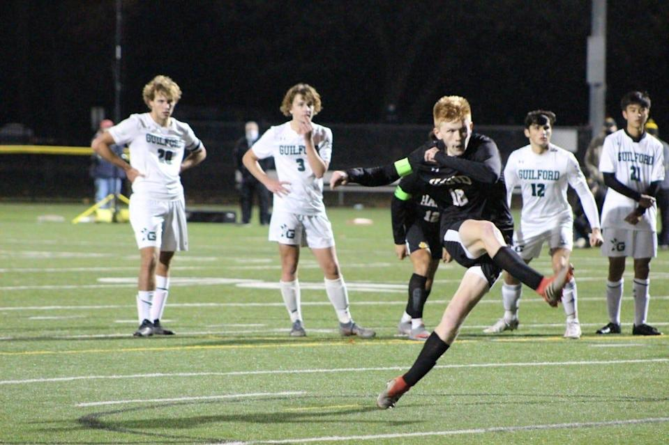Daniel Hand High School soccer standout Scott Testori is among the Connecticut High School Sports Awards honorees who have earned plaudits. Winners will be announcedon the show website July 15.