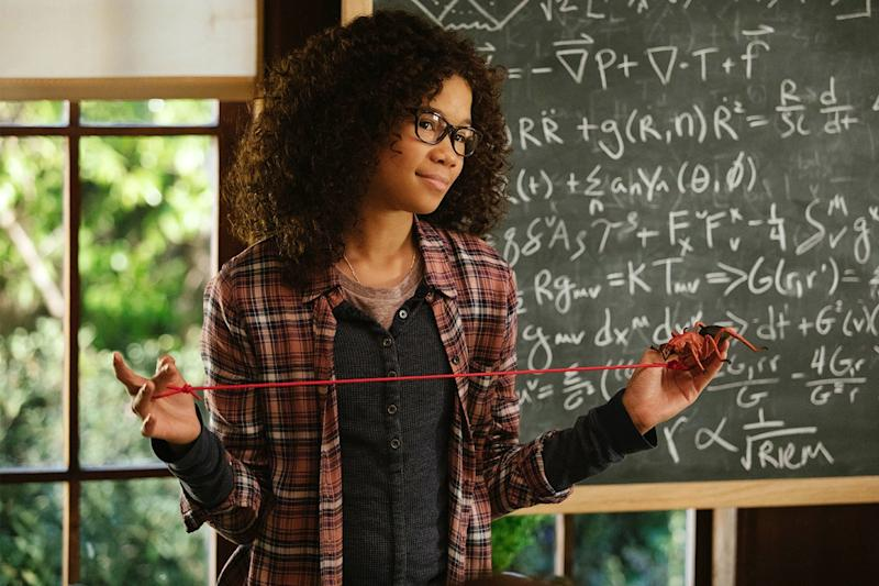 The classic Madeleine L'Engle tale is finally coming to the big screen on March 9, 2018, thanks to Disney and director Ava DuVernay. The sci-fi story about a girl tesseracting her way through time to find her missing father will star newcomer Storm Reid alongside stars like Oprah Winfrey, Mindy Kaling, Reese Witherspoon, and Chris Pine.