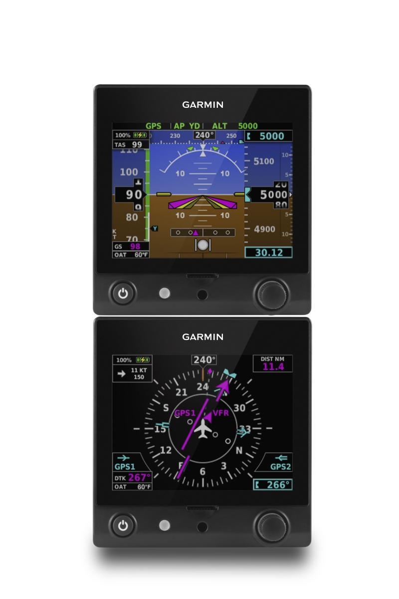 Garmin® TeamX brings new features to the G5 electronic flight instrument and the G3X Touch flight display