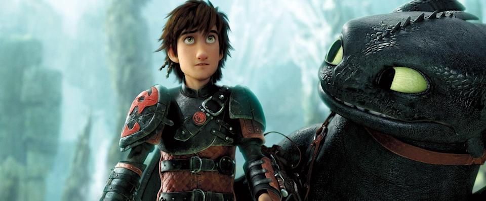 """<p><strong>What it's about:</strong> """"Hiccup, Toothless and a mysterious dragon rider join forces to protect the island of Berk from a power-hungry warrior with a dragon army of his own.""""</p> <p><a href=""""https://www.netflix.com/title/70298991"""" class=""""link rapid-noclick-resp"""" rel=""""nofollow noopener"""" target=""""_blank"""" data-ylk=""""slk:Stream How to Train Your Dragon 2 on Netflix!""""> Stream <strong>How to Train Your Dragon 2</strong> on Netflix!</a></p>"""