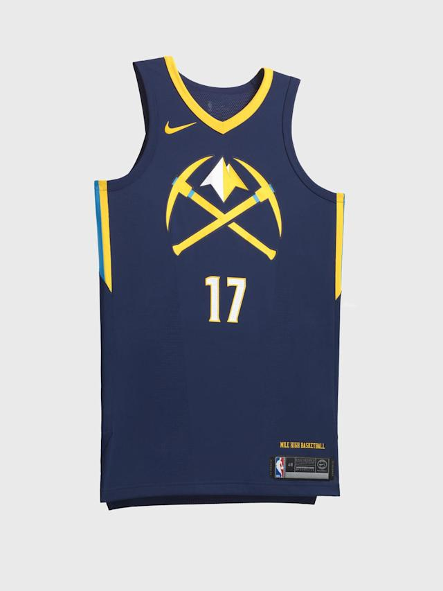 Denver Nuggets City uniform. (Nike)