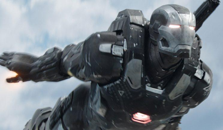 War Machine is back in action in Infinity War - Credit: Marvel