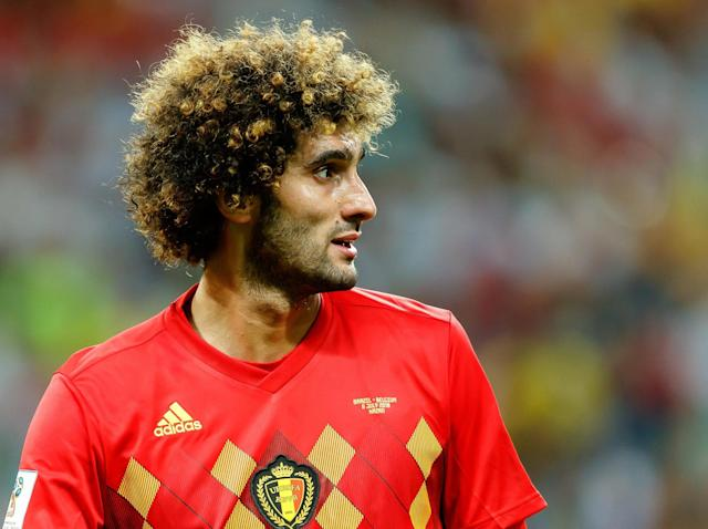 World Cup 2018: Loafing uselessly on the left-wing, Marouane Fellaini's struggles come to encapsulate Belgium's night
