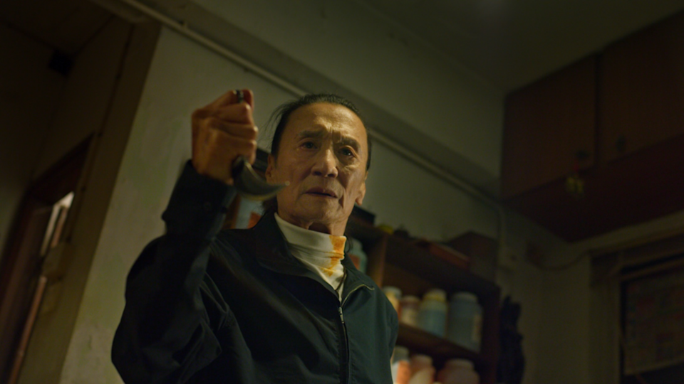 Patrick Tse stars as the retired assassin Chau in Time. (Photo: Golden Village Pictures)