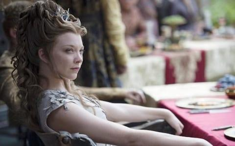 Natalie Dormer as Margaery Tyrell - Credit: HBO