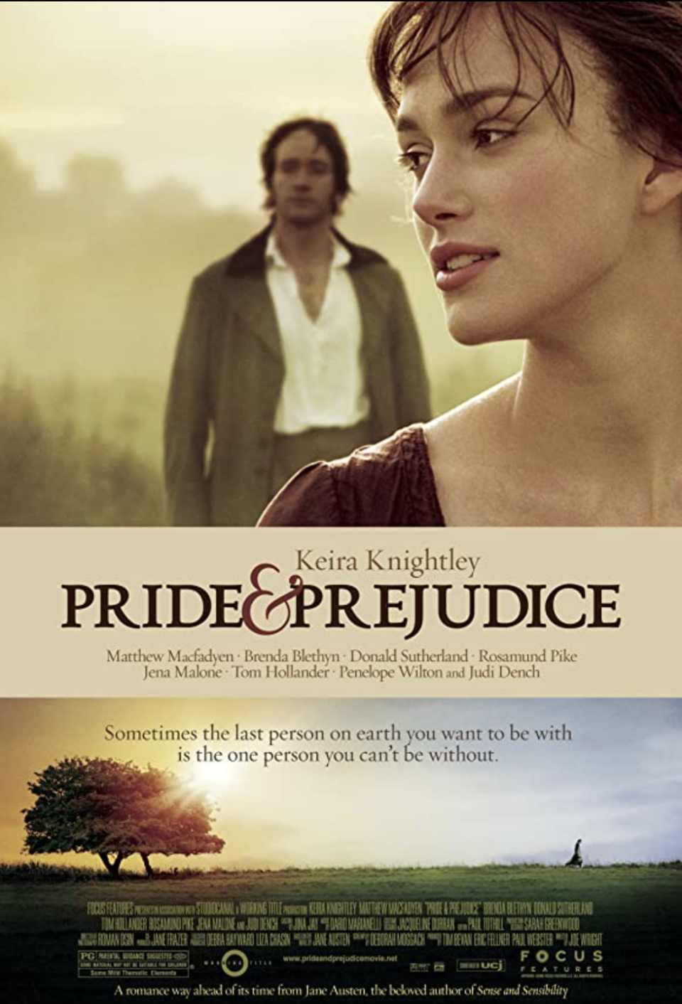 "<p>Jane Austen's classic tale is brought to life by Keira Knightley in this sweeping 19th century love story. It doesn't get much more romantic than this.</p><p><a class=""link rapid-noclick-resp"" href=""https://www.netflix.com/search?q=Pride+%26+Prejudice&jbv=70032594"" rel=""nofollow noopener"" target=""_blank"" data-ylk=""slk:STREAM NOW"">STREAM NOW</a></p>"