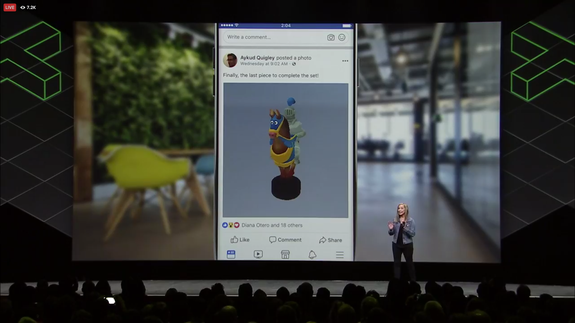 3D posts on Facebook just got a lot better