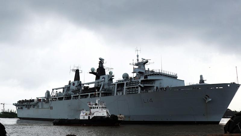 Britain's planned naval base in Southeast Asia seen as 'muscle-flexing' against China