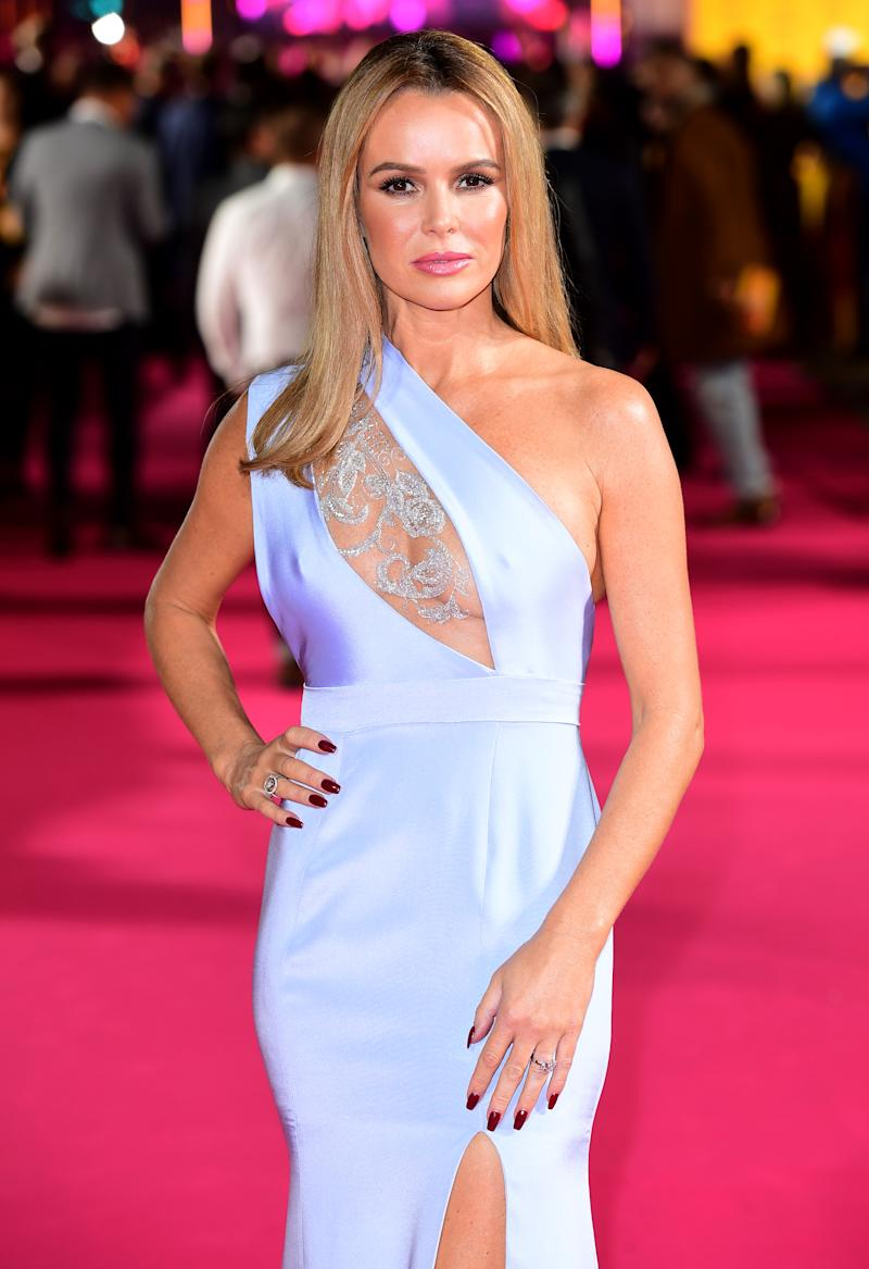 Amanda Holden Tits amanda holden: there have been no complaints at home about