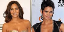 <p>While dating model Gabriel Aubry, Halle grew out her iconic pixie cut, but after their breakup, she returned to her signature look. Thank GAWD.</p>
