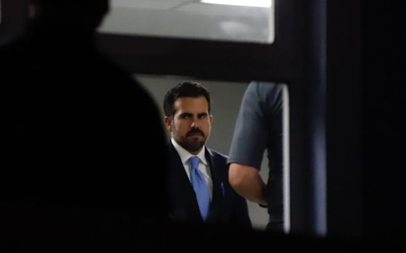 The governor of Puerto Rico has accepted impeachment and will not run for re-election - REX