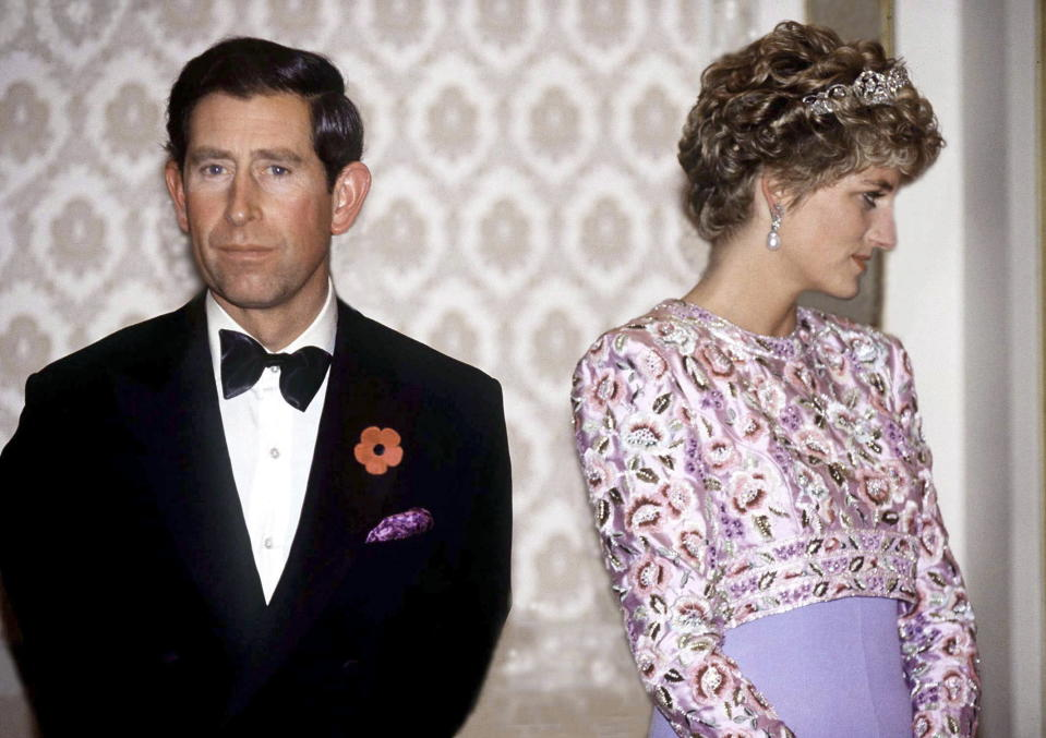 Archived recordings have revealed the heartbreaking reason Diana was sobbing at the airport was because of Charles' mistress Camilla. Source: Getty