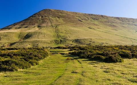 The favourite walk is up Hay Bluff - Credit: istock