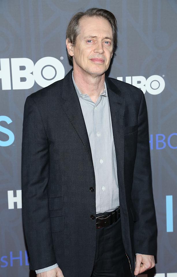 "Steve Buscemi attends HBO's premiere of ""Girls"" Season 2 at the NYU Skirball Center on January 9, 2013 in New York City."