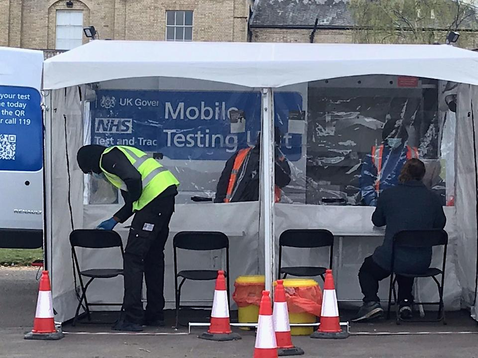 Surge testing taking place in Brockley  (PA Wire)