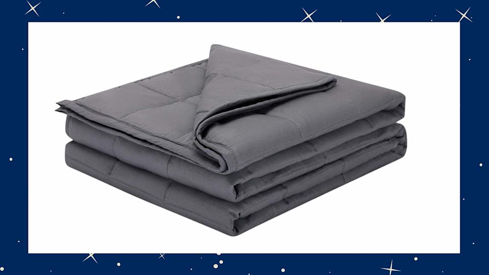 The Weighted Idea Weighted Blanket is on sale for 15% off through Amazon.