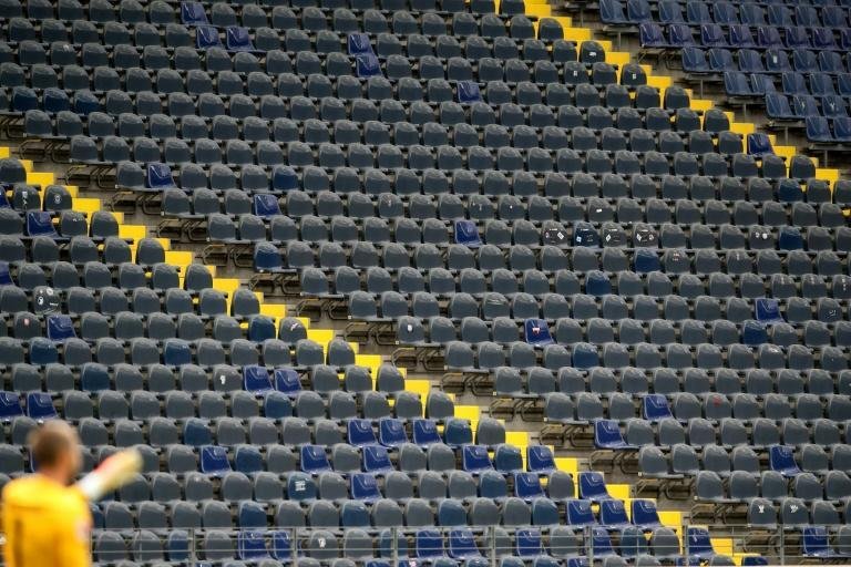 The terraces at Bundesliga games will once again be empty until at least the end of November