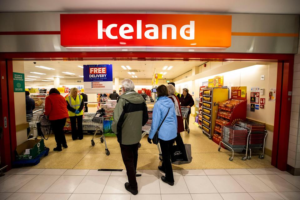 The boss of Iceland has criticised the decision to exclude shop workers from those exempt (PA) (PA Archive)