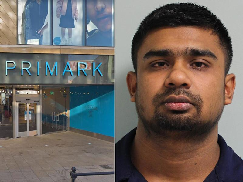 Uddin took advantage of CCTV blind spots while working at the Kingston branch of the store: google/Met Police