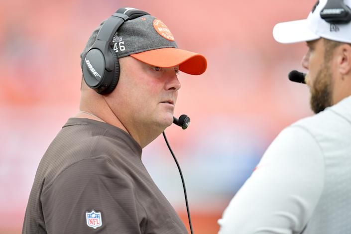 The Browns fell to the Titans 43-13 on Sunday in their season-opener, giving up 21 points in the fourth quarter while committing 18 penalties on the day.