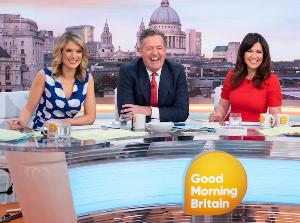 Many of the 'GMB' team have appeared on other shows in cameos as themselves. (ITV)