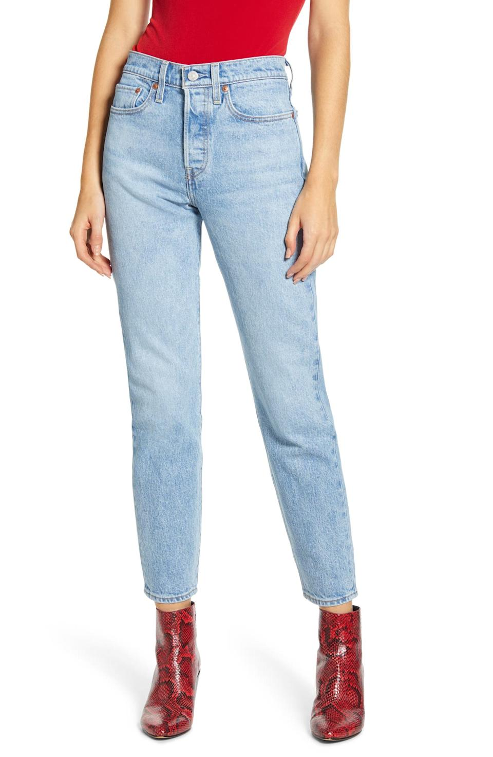Levi's Wedgie Icon Fit High Waist Jeans. Image via Nordstrom.