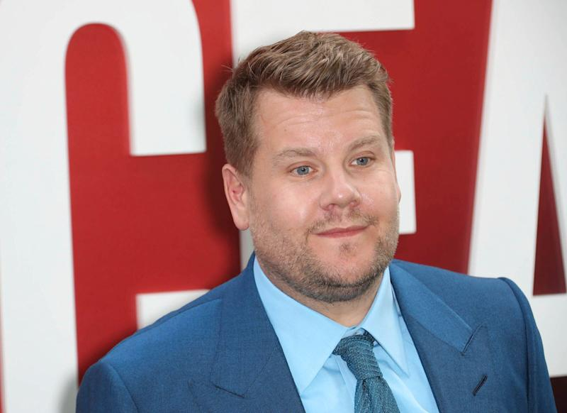 "Photo by: John Nacion/STAR MAX/IPx 2018 6/5/18 James Corden at the premiere of ""Ocean's 8"" in New York City."