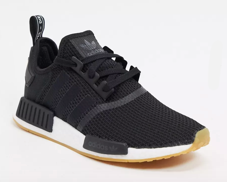 black adidas nmd sneakers, best casual shoes for summer 2021