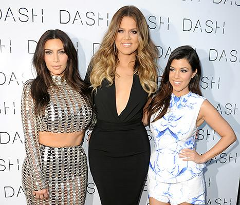 Kim Kardashian, Khloe Kardashian and Kourtney Kardashian attended the grand opening of Dash Miami Beach on March 12