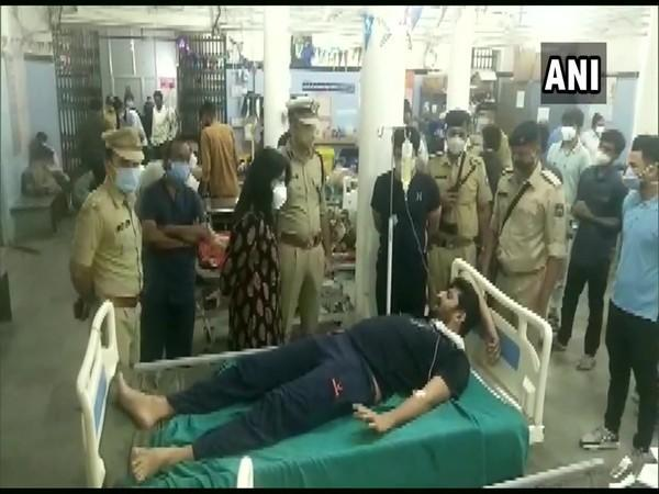 The injured are being treated at a hospital. [Photo/ANI]