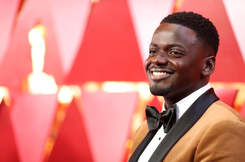 "The British ""Black Panther"" star at the 90th Annual Academy Awards on March 4."
