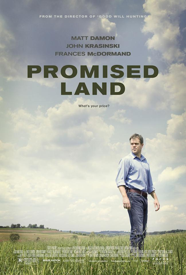"""Fox Searchlight's """"Promised Land"""" - 2013"""