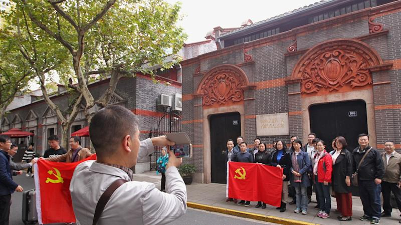 Chinese hit the red tourism trail as Beijing puts communist sites on the map