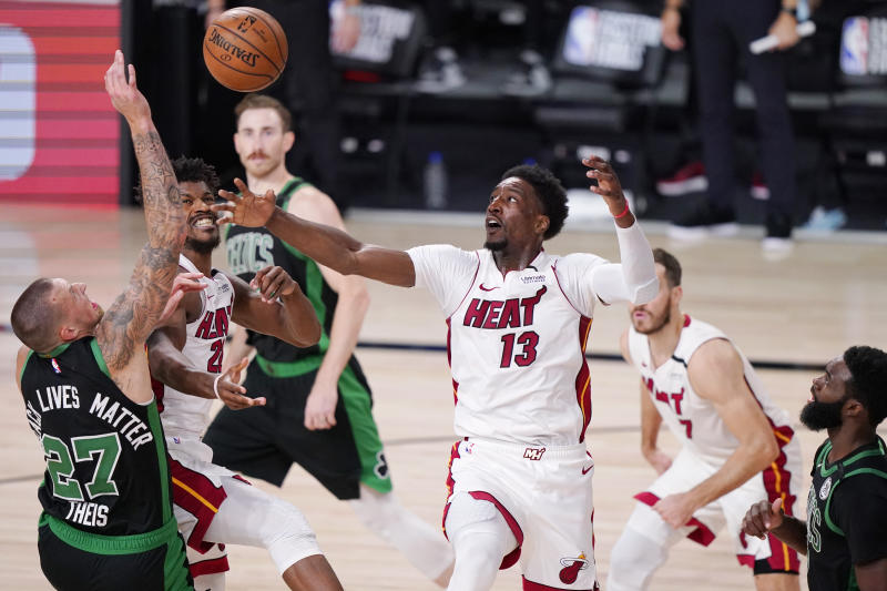 Heat Celtics Basketball