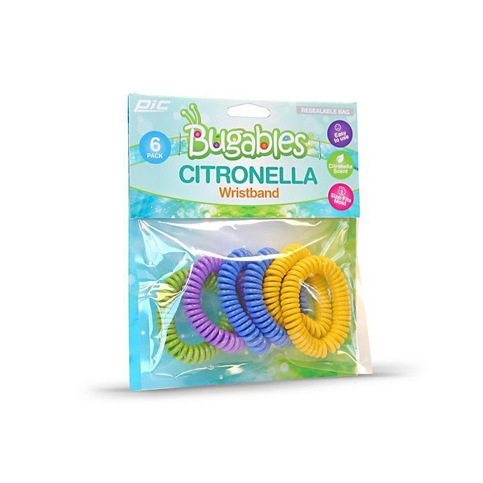 "<h3>Bugables Mosquito Repellent Bands </h3> <br>Slide one of these plant-based bracelets infused citronella, lemongrass, rosemary, and peppermint oils on your wrist to repel mosquitos in incognito, could-be-a-hair-tie style.<br><br>As one reviewer attests, ""Slip one of these on your arms or ankles and no bites. Plus, they don't leave and odor on your skin!""<br><br><strong>Pic</strong> Bugables Mosquito Repellent Bands (Set of 6), $, available at <a href=""https://go.skimresources.com/?id=30283X879131&url=https%3A%2F%2Fwww.bedbathandbeyond.com%2Fstore%2Fproduct%2Fpic-reg-bugables-mosquito-repellent-bands-set-of-6%2F5252838"" rel=""nofollow noopener"" target=""_blank"" data-ylk=""slk:Bed Bath and Beyond"" class=""link rapid-noclick-resp"">Bed Bath and Beyond</a><br><br><br>"