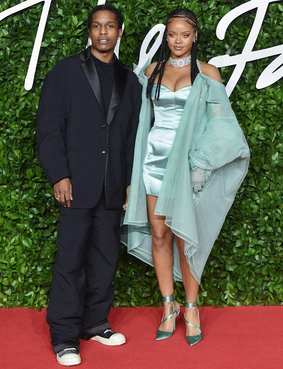 <p>The stars are known for creating a statement regardless of the occasion. These ensembles from the two — worn to The Fashion Awards (of course!) in London in 2019, before they even confirmed their relationship — proved that there are no rules when it comes to formality for this pair.</p>