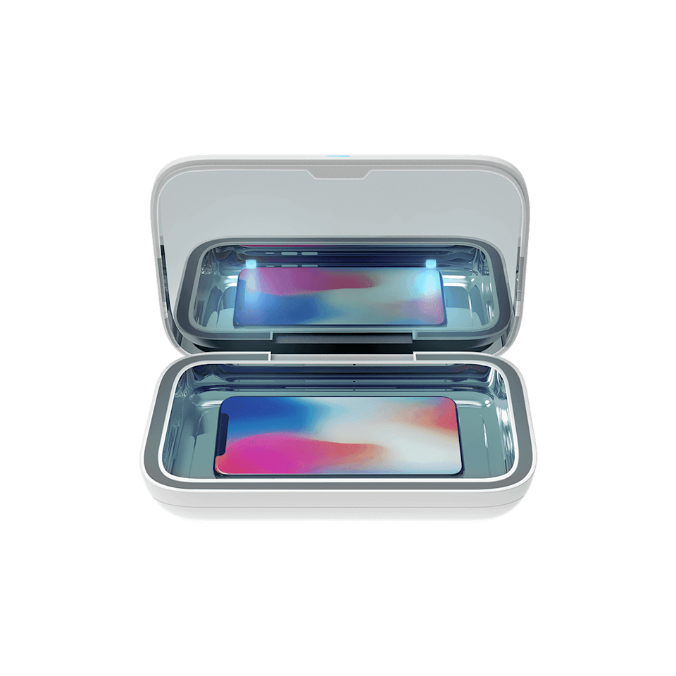 <p>This <span>CASETiFY UV Sanitizer Lite</span> ($80) will clean your phone, or anything that fits in just six minutes.</p>