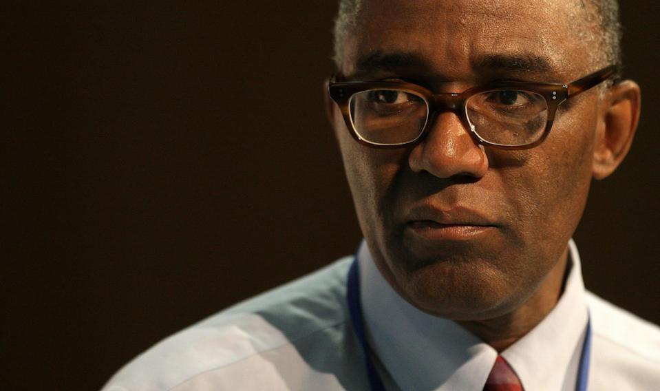 Trevor Phillips, Chair of the Equality and Human Rights Commission, speaks at the Fabian Society conference 'The Equality Summit', at the TUC Congress House, London.
