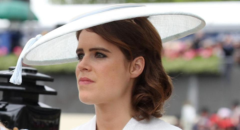 Princess Eugenie has hinted about her wedding dress designer. [Photo: Getty]