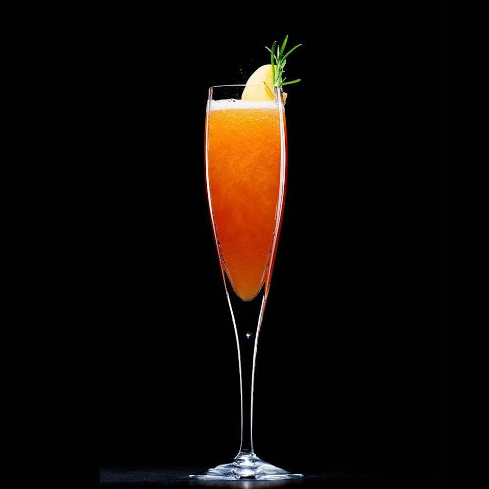 "<p>Rich Hunt, previously Head Bartender at Milk & Honey, Mahiki and Hawksmoor, as well as former winner of Bartender of the Year, is here to tell us how to make the perfect Bellini...</p><p><strong>Recipe: <a href=""https://www.goodhousekeeping.com/uk/food/food-news/how-to-make-the-perfect-bellini"" rel=""nofollow noopener"" target=""_blank"" data-ylk=""slk:Peach Bellini"" class=""link rapid-noclick-resp"">Peach Bellini</a> </strong></p>"