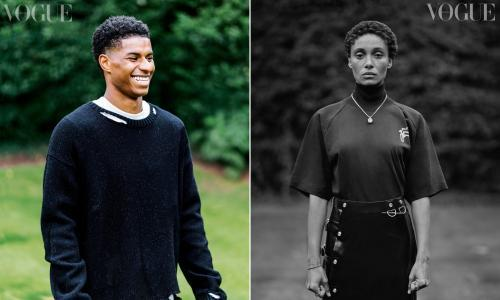Marcus Rashford scores cover of British Vogue's September issue